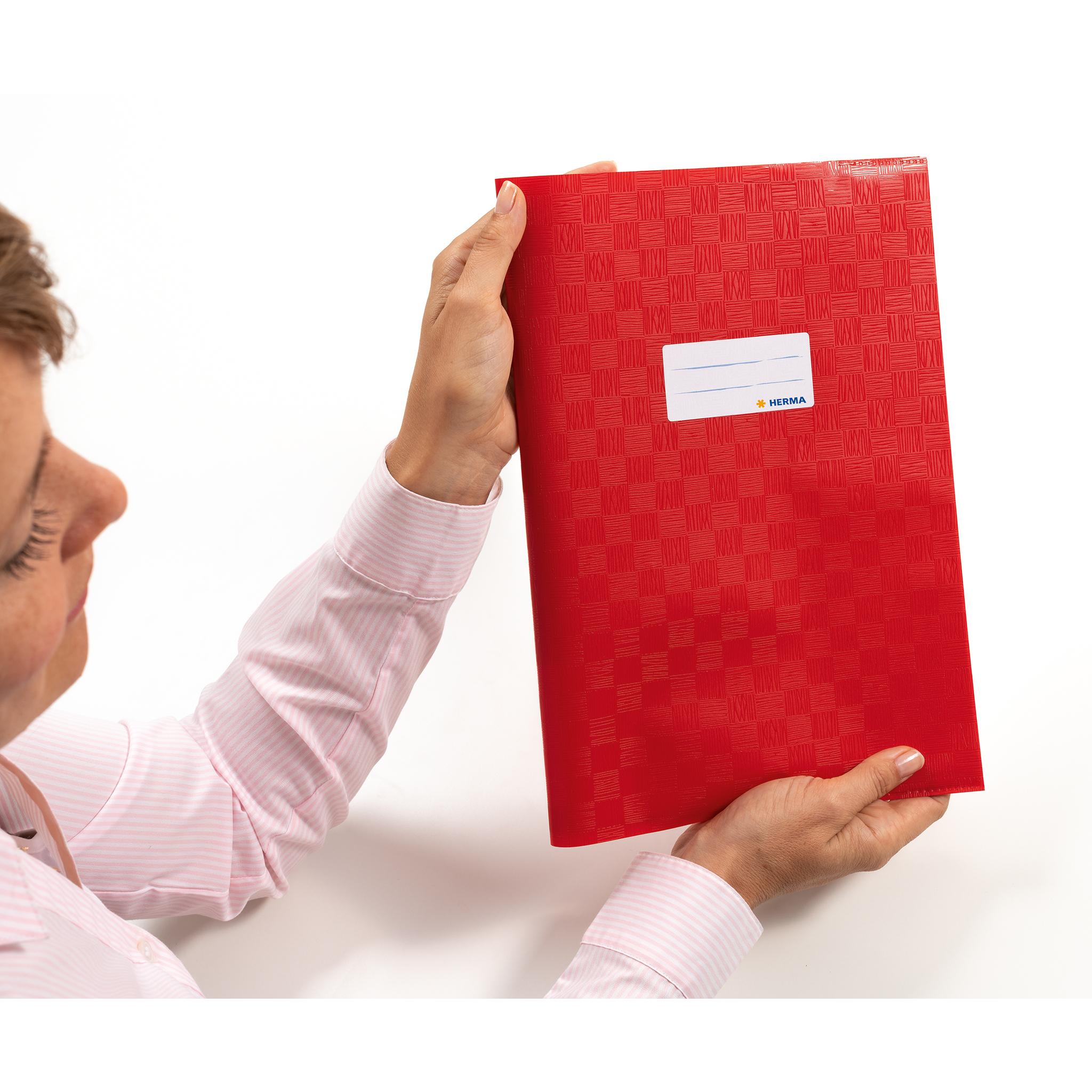 HERMA Heftschoner A4 PP rosa gedeckt